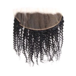 13x6 inch lace frontal, Brazilian Curly.